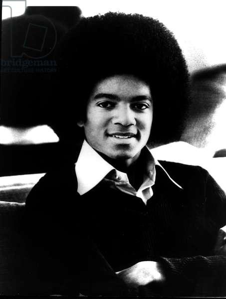"""""""""""Le chanteur Michael Jackson en 1978"""""""