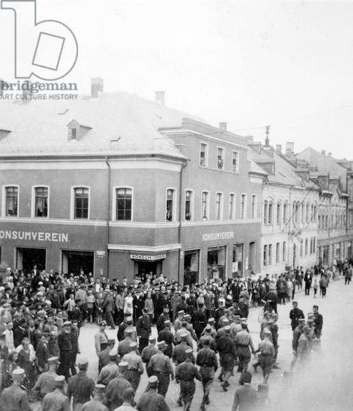 Weimar Republic - SA rally 1930