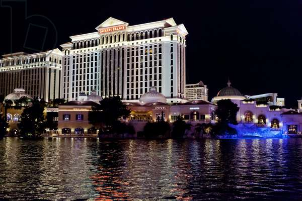 Caesars Palace hotel and casino, Las Vegas, March 2012 (photo)