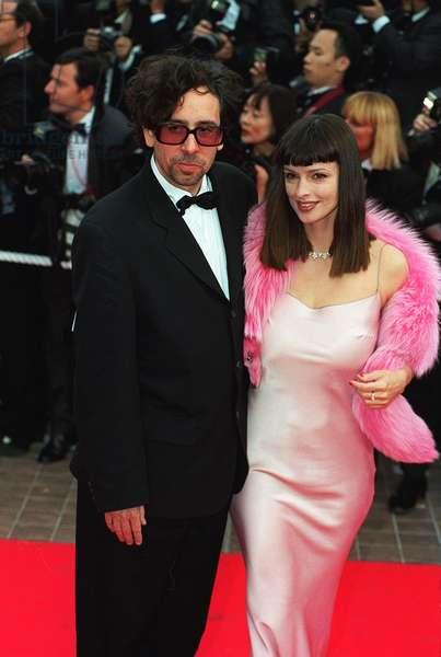 Tim Burton et Lisa Marie 1997