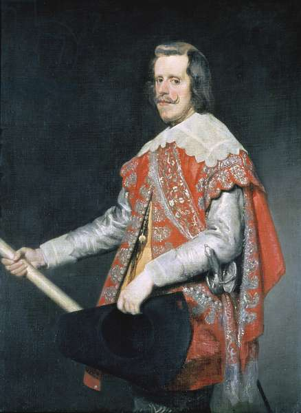 Philip IV, King of Spain (oil on canvas)
