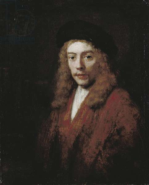 Portrait of a young man (oil on canvas)