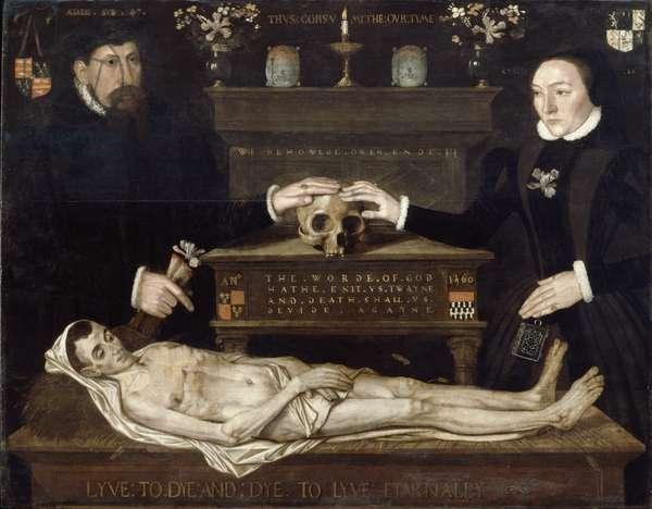 The Judde Memorial, c.1560 (oil on oak panel)