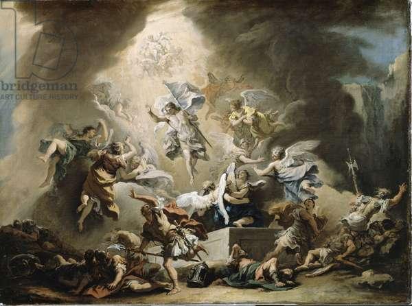 The Resurrection, c.1715-16 (oil on canvas)