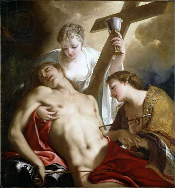 St. Sebastian, c.1716-18 (oil on canvas)