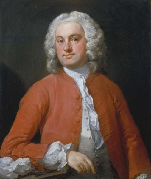 Portrait of a Man, 1741 (oil on canvas)