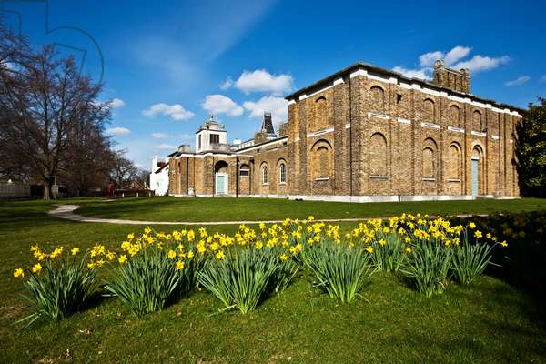 Exterior view of Dulwich Picture Gallery (photo)
