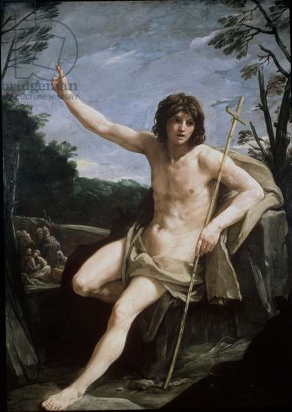 St. John the Baptist in the Wilderness, c.1636-37 (oil on canvas)