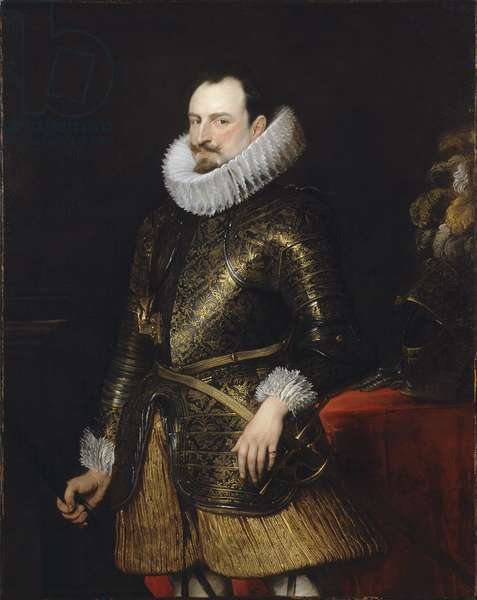 Portrait of Emmanuel Philibert or Savoy, Prince of Oneglia (oil on canvas)
