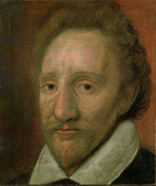 Portrait of Richard Burbage (1573-1619) (oil on canvas)