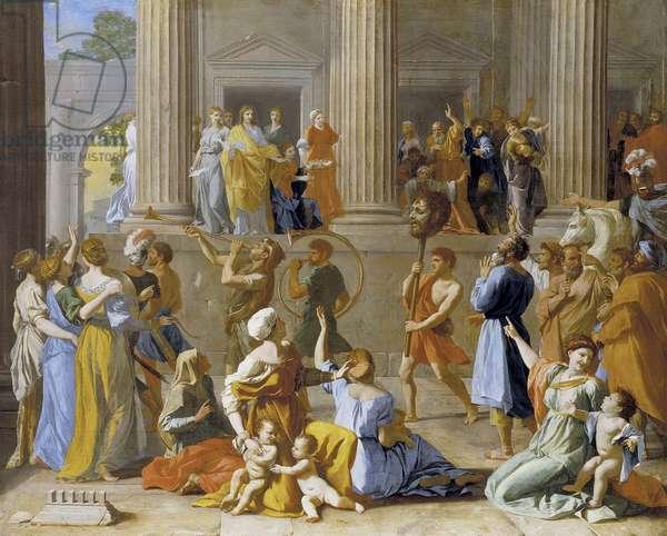 The Triumph of David, c.1631-3 (oil on canvas)