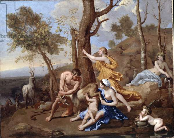 The Nurture of Jupiter, mid-1630s (oil on canvas)