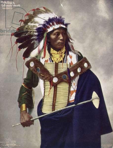 High Hawk Council Chief, 1899 (photo)