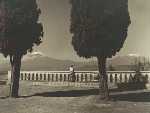 Mount St. Helens, c.1920-30 (b/w photo)