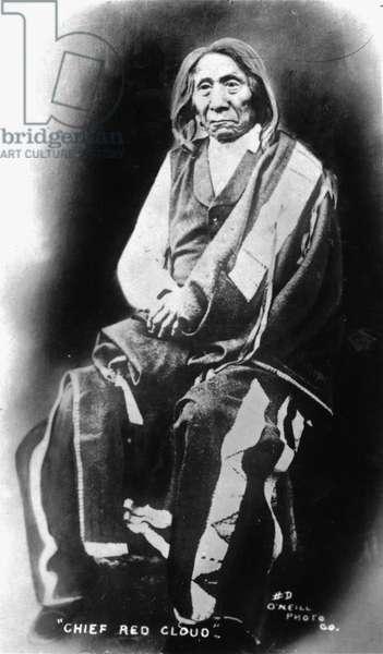 Red Cloud, c.1900-09 (b/w photo)