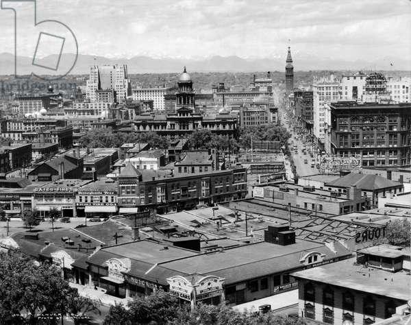 Denver, Colorado, c.1930-33 (b/w photo)