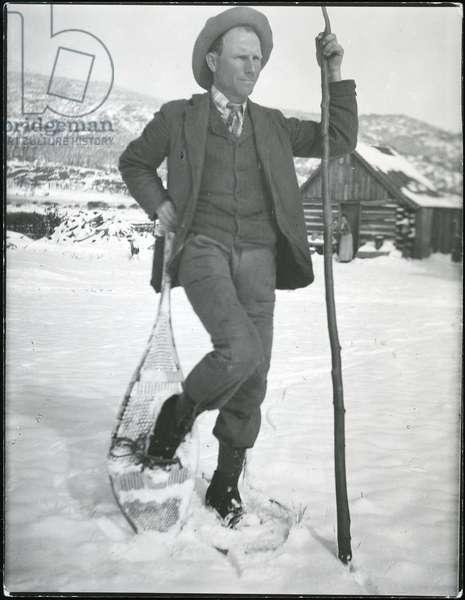 Enos Abijah Mills, 1910-20 (b/w photo)