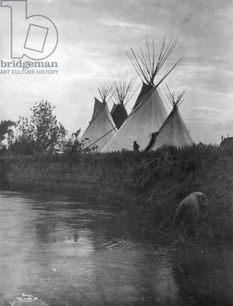 Beyond the Little Bighorn, 1908 (b/w photo)