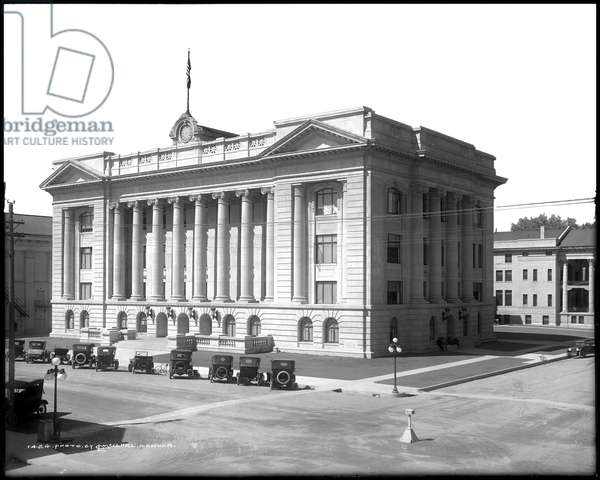Wald County, County Administration, Courthouse, Greeley, Colorado, c.1917 (b/w photo)