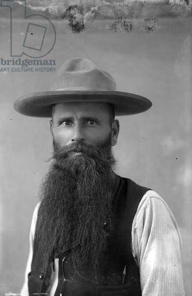 Doc Middleton, c.1891 (b/w photo)