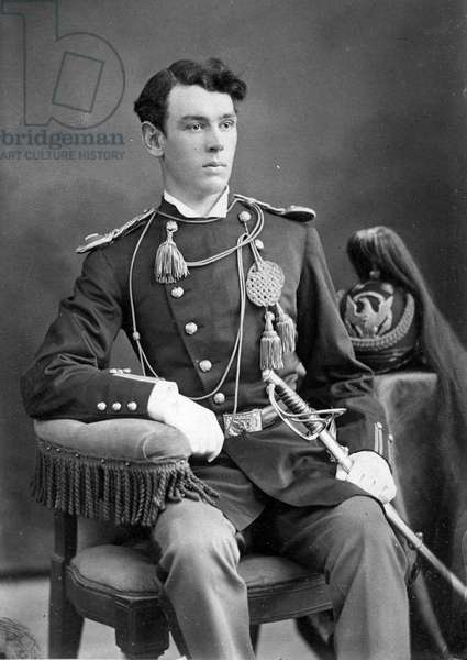 Lieutenant James G. Sturgis, c.1874-76 (b/w photo)