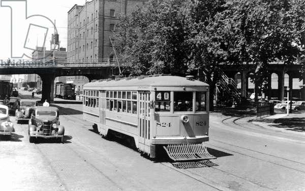 Union station, 1944 (b/w photo)