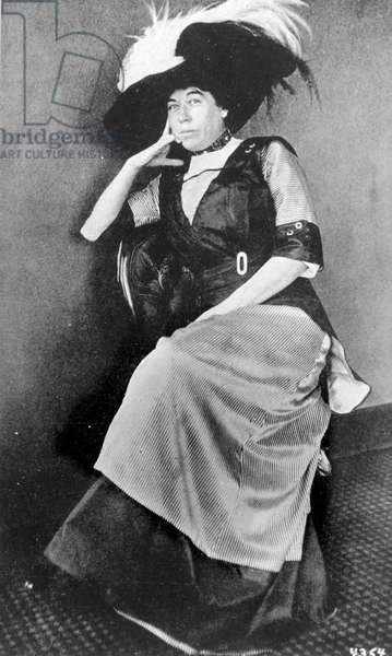 Mrs. J. J. Brown Molly Tobin Margaret, c.1910-14 (b/w photo)