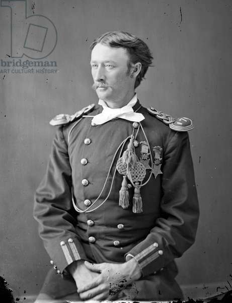 Captain Tom Custer, 1870s (b/w photo)
