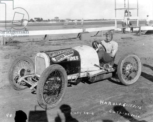 Harold Griffith, Cushing, Oklahoma, 1925 (b/w photo)