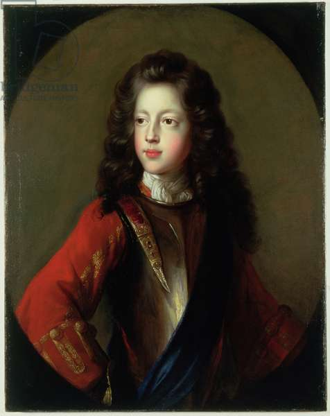 James VIII of Scotland & III of England, c.1704 (oil on canvas)