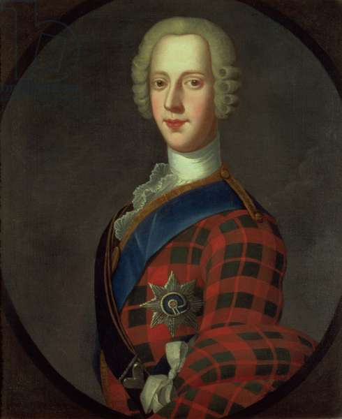 Prince Charles Edward Stuart (Bonnie Prince Charlie, 1720-88) (oil on canvas)
