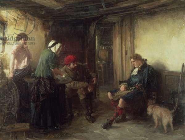 The Fugitive (oil on canvas)