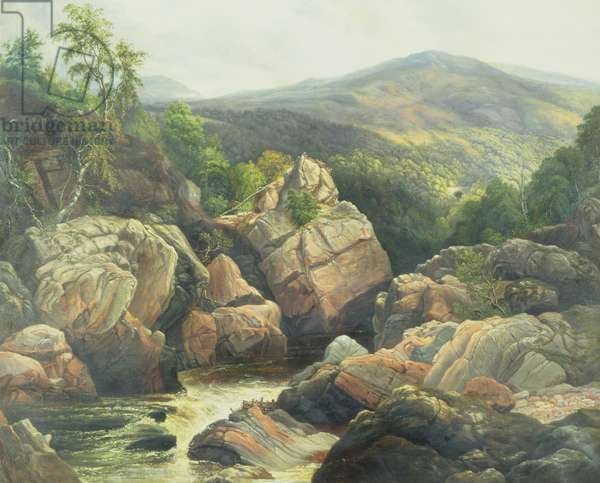 Killiecrankie (oil on canvas)