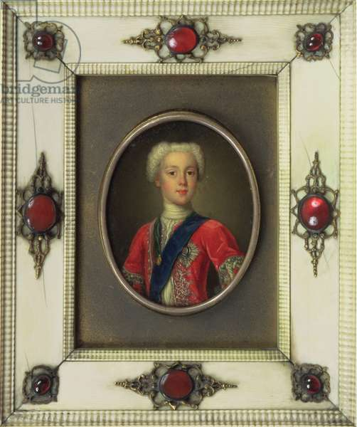 Prince Charles Edward Stuart (Bonnie Prince Charlie, 1720-88) (oil on copper)