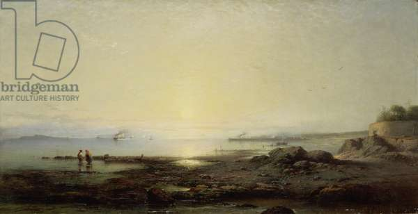 The Firth of Forth from Cramond, 1864 (oil on canvas)