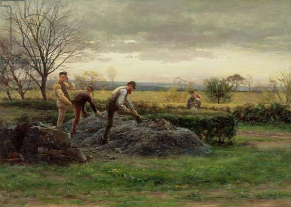 Stonebreakers, East Lothian, 1878 (oil on canvas)