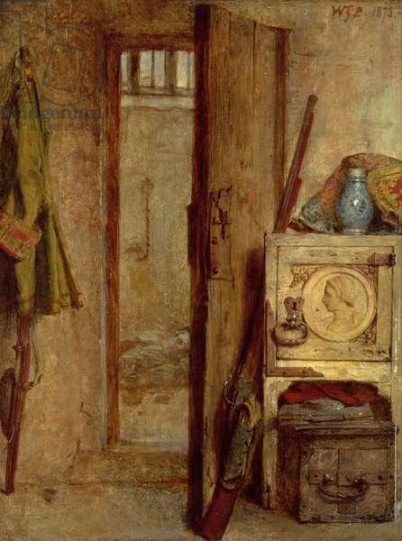 The Prisoner, 1873 (oil on panel) (pair of 128787)