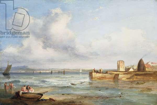 Portobello Sands (oil on canvas)