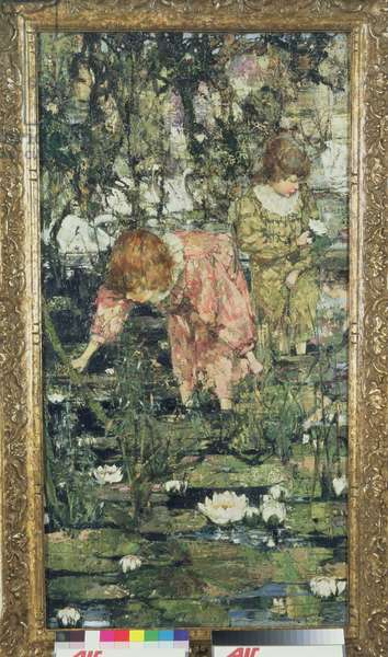The Lily Pond, 1900 (oil on canvas)