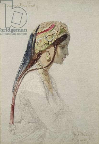 A Samaritan Lady, 1859 (w/c on paper)