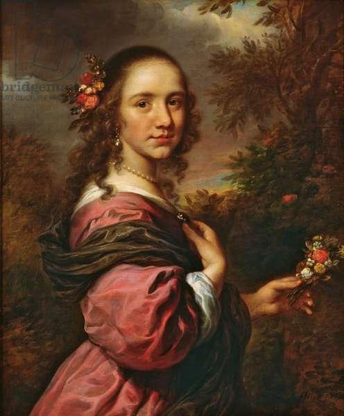 Portrait of a lady, 1658