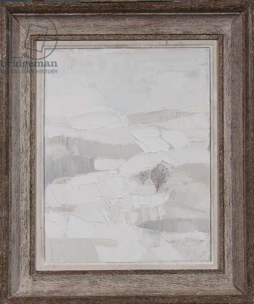 The Silence of Snow, 2008 (oil on canvas)