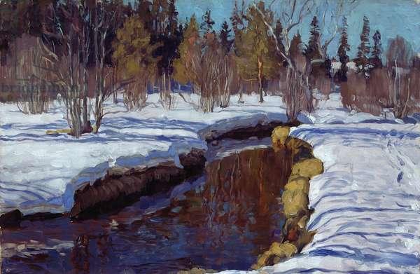 Winter, 1910 (oil on canvas)