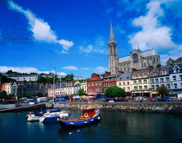 Cobh Cathedral & Harbour, Co Cork, Ireland (photo)