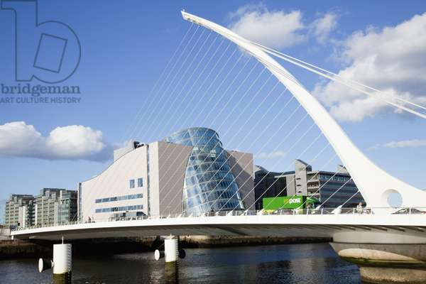 The National Conference Centre And River Liffey; Dublin City, Dublin, Ireland (photo)