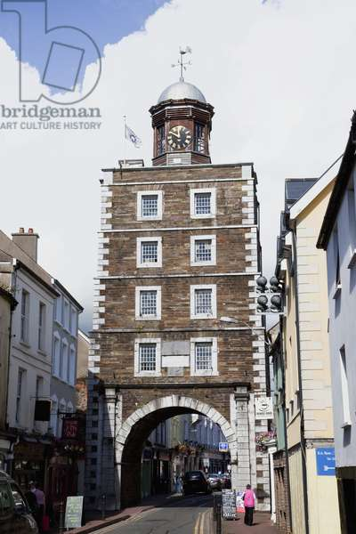 The Clock Tower; Youghal County Cork Ireland (photo)
