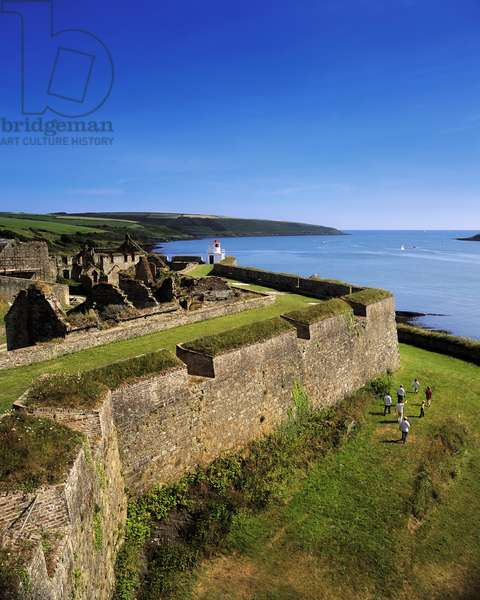 Charles Fort, Kinsale Harbour, Co Cork, Ireland; 17Th Century Star Fort (photo)