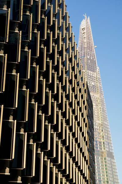 More Place and the Shard, London, England, UK  (photo)