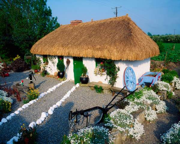 Traditional Cottage, Co Laois, Ireland (photo)