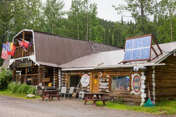 The Tetsa River Lodge, British Columbia, Canada, Summer (photo)